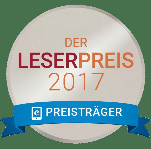 Silber- und Bronze beim Lovelybooks Lesepreis 2017 für Das Erbe der Macht von Andreas Suchanek - www.dieschreibwg.de